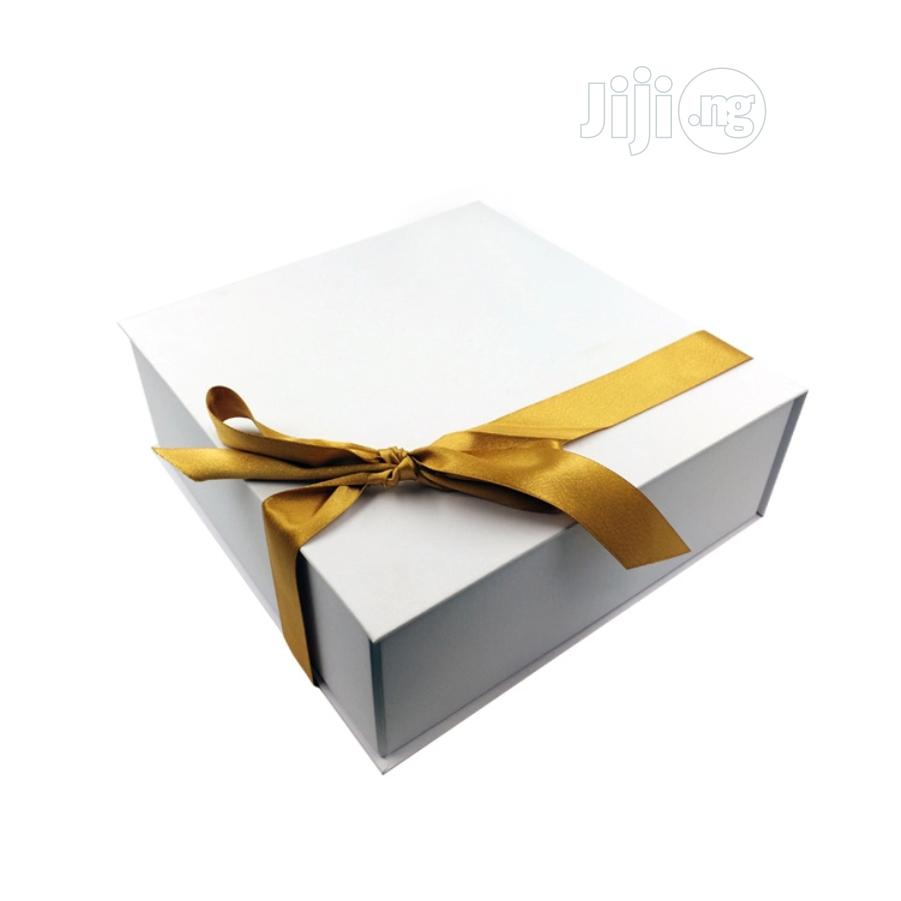 Personalised White Gift Boxes | Party, Catering & Event Services for sale in Ikeja, Lagos State, Nigeria