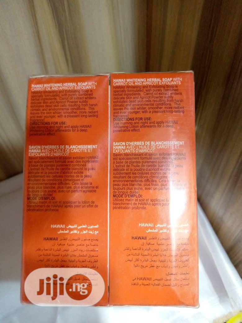Hawaii Whitening and Exfoliating Soap | Bath & Body for sale in Amuwo-Odofin, Lagos State, Nigeria