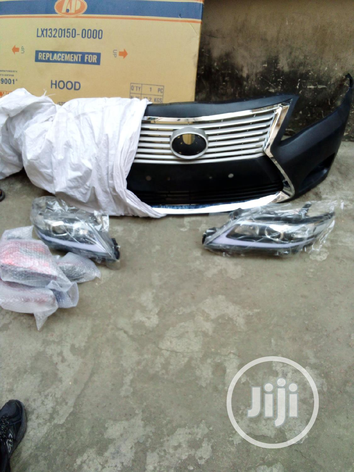 Archive: Upgrade for Toyota Camry 2010 Upgrade to Lexus Face