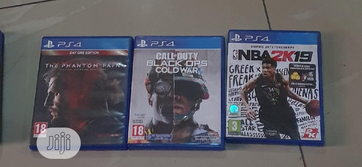 Archive: PS4 Discs (Games)