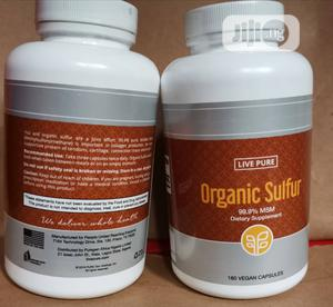 Organic Sulfur for Healthy Joints, Skin Etc   Vitamins & Supplements for sale in Lagos State, Ikeja