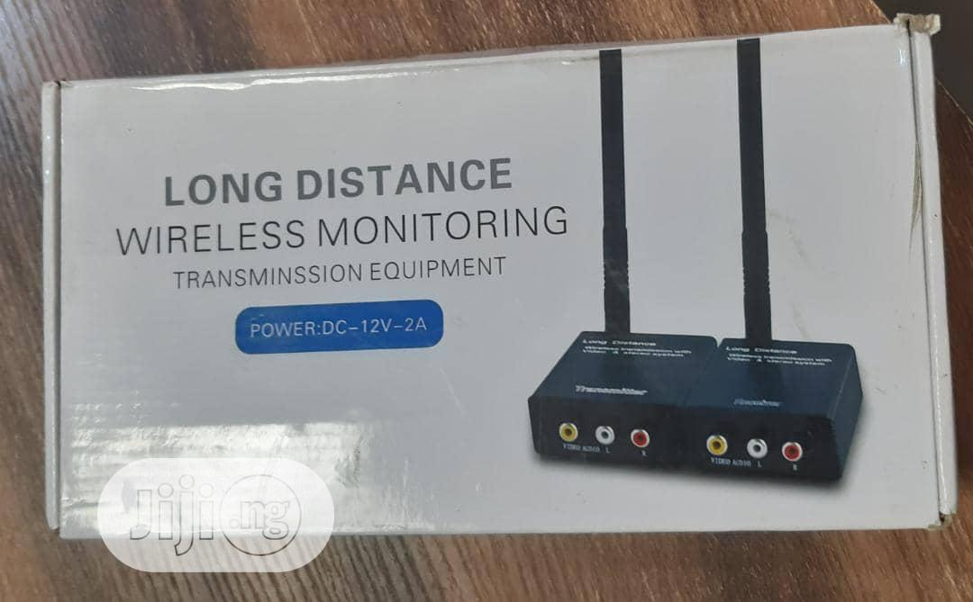 Long Distance Wireless Monitor