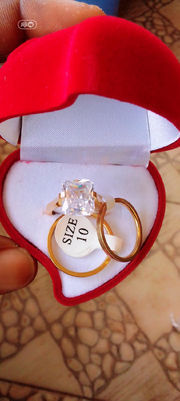 Romania Gold Wedding Ring Set