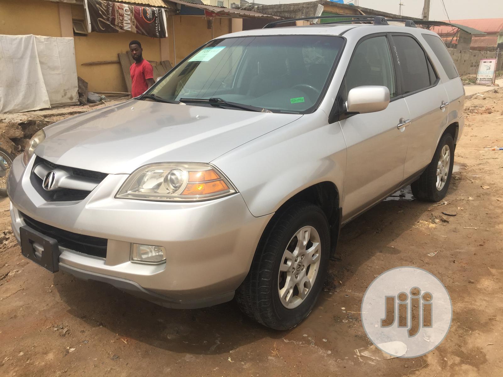 Acura MDX 2006 Silver | Cars for sale in Isolo, Lagos State, Nigeria