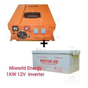 1kw 12V Inverter Pure Sine Wave | Solar Energy for sale in Lagos State, Lekki