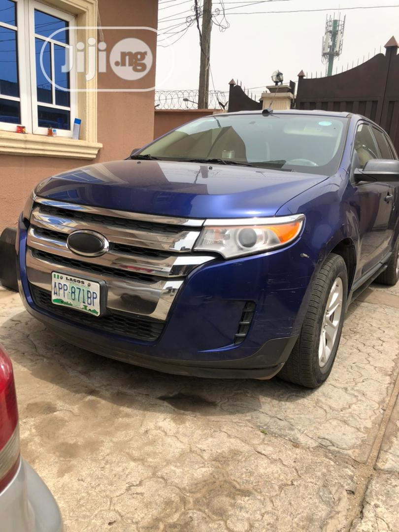 Ford Edge 2013 Blue