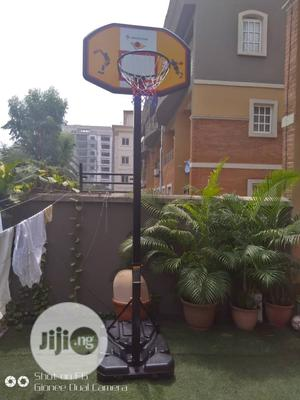 Adults Basketball Stand With Complete Accessories   Sports Equipment for sale in Lagos State, Lekki