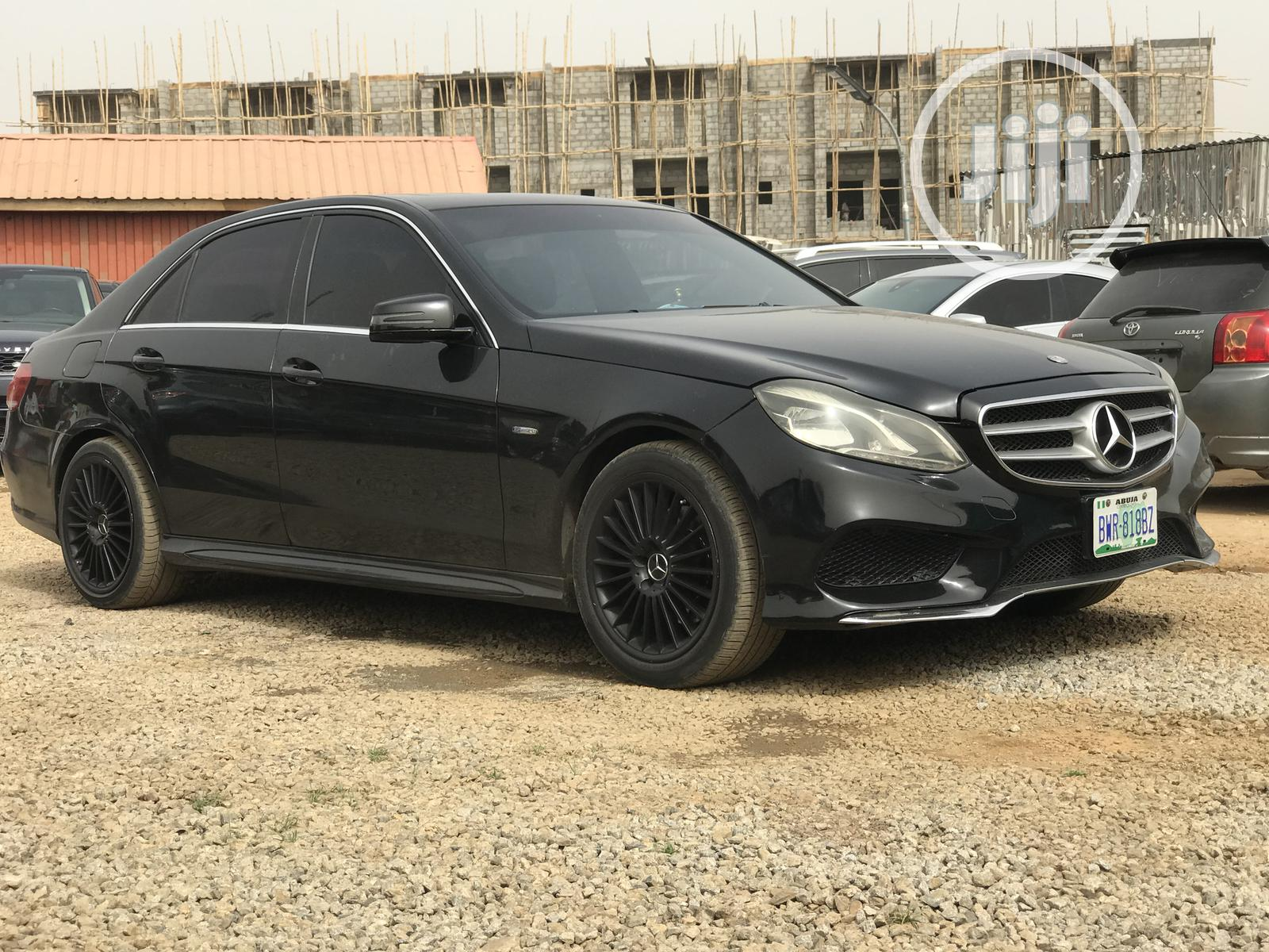 Archive: Mercedes-Benz E350 2012 Black