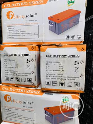 200ah 12v Felicity Gel Battery   Solar Energy for sale in Lagos State, Surulere