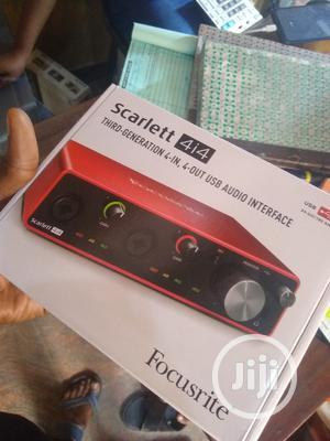 Focusrite Sound Card Scarlett 4i4 3rd Gen Audio Interface   Audio & Music Equipment for sale in Lagos State, Agege