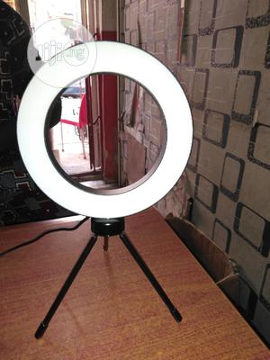 6inches Ring Light With Table Stand   Accessories & Supplies for Electronics for sale in Lagos State, Lagos Island (Eko)