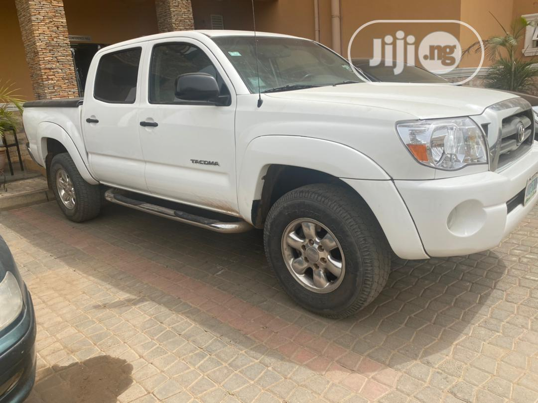 Archive: Toyota Tacoma 2008 4x4 Access Cab White