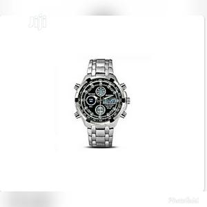 Authentic Waterproof Analog and Digital Chronograph Watch | Watches for sale in Lagos State, Isolo