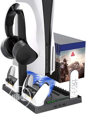 PS 5 Console, Charge Controller, Cooling Fan | Accessories & Supplies for Electronics for sale in Lagos State, Ikeja