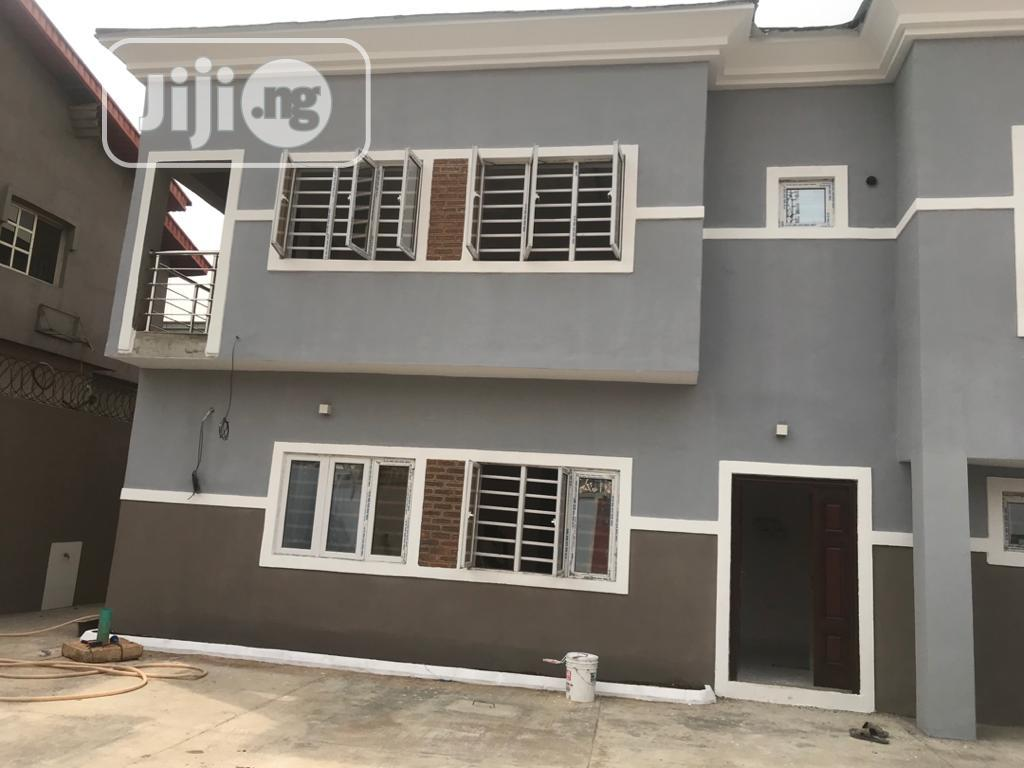 4 Bedroom Duplex With a Bq for Sale at Magodo Isheri Phase1