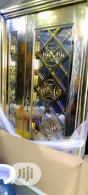 4ft Glass Door Gold   Doors for sale in Lagos State, Orile