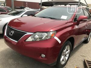 Lexus RX 2012 350 AWD Red | Cars for sale in Lagos State, Amuwo-Odofin