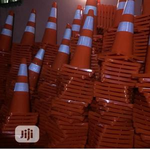 Safty Cone 100cm and 75cm | Safetywear & Equipment for sale in Lagos State, Surulere