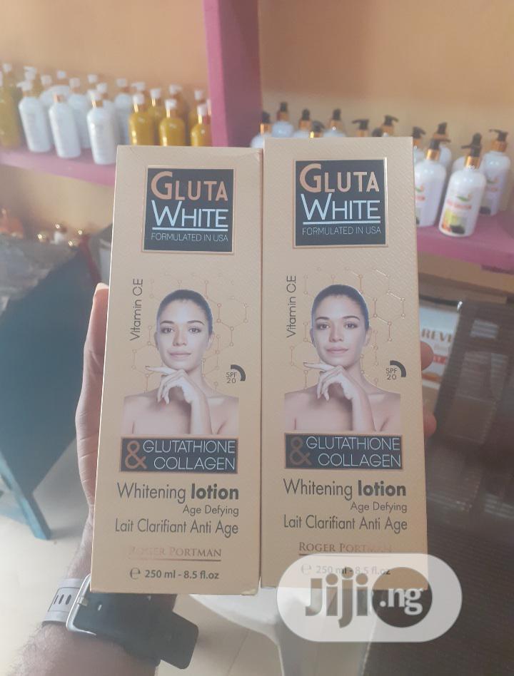 Gluta White Glutathione Collagen Whitening Lotion