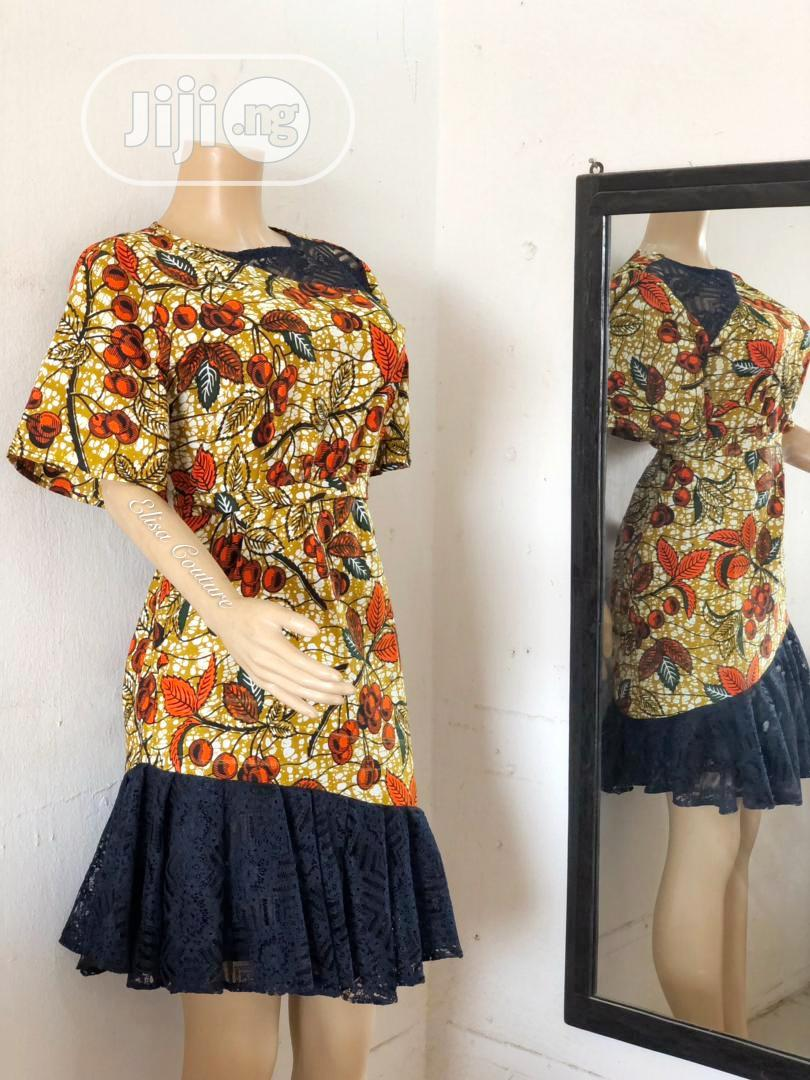 Archive: Trendy Ankara Dress