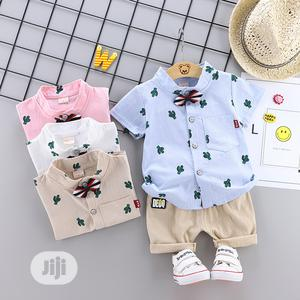 Short Sleeve Shirt and Short Suit   Children's Clothing for sale in Lagos State, Lekki
