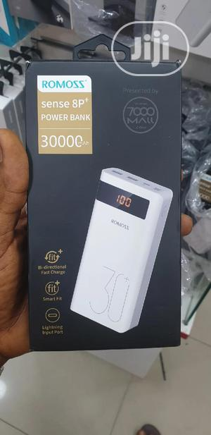 Romoss Sense 8p+ Power Bank 30000mah | Accessories for Mobile Phones & Tablets for sale in Lagos State, Ikeja