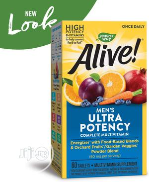 Nature's Way Alive Men Ultra Potency | Vitamins & Supplements for sale in Lagos State, Lekki