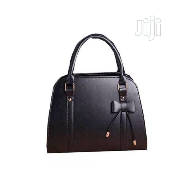 Magnificent Female Women Ladies Shoulder Handbag - Black