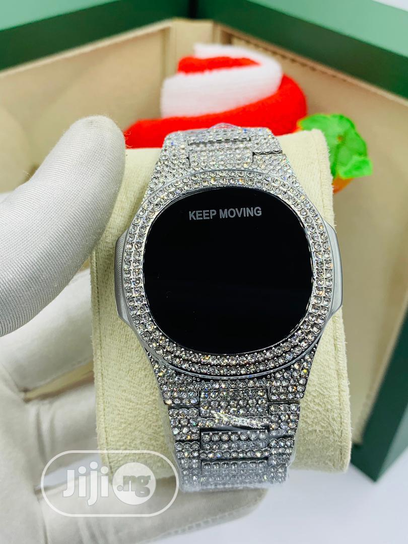 Iced Wristwatch | Watches for sale in Lagos Island (Eko), Lagos State, Nigeria