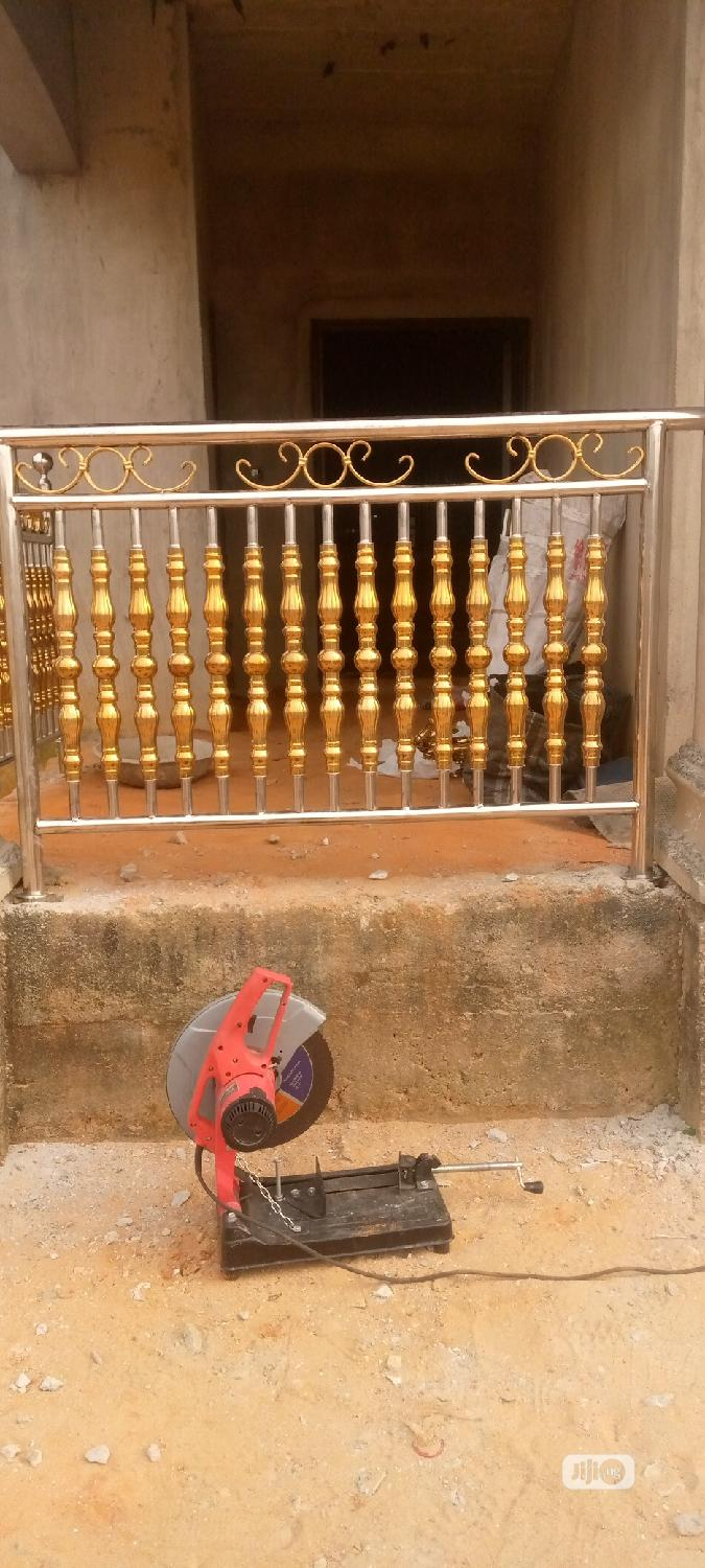 Stainless Steel Handrails and Stainless Steel Gates | Building & Trades Services for sale in Port-Harcourt, Rivers State, Nigeria