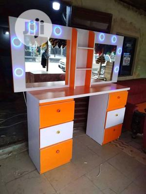 Double Space Dressing Table /Saloon Table   Furniture for sale in Lagos State, Isolo