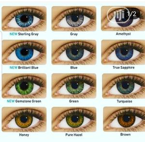 Contact Lens With Solution And Eye Drop | Skin Care for sale in Lagos State, Amuwo-Odofin