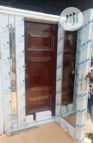 Door in Door Glass Door 4ft and 3ft | Doors for sale in Lagos State, Ikeja