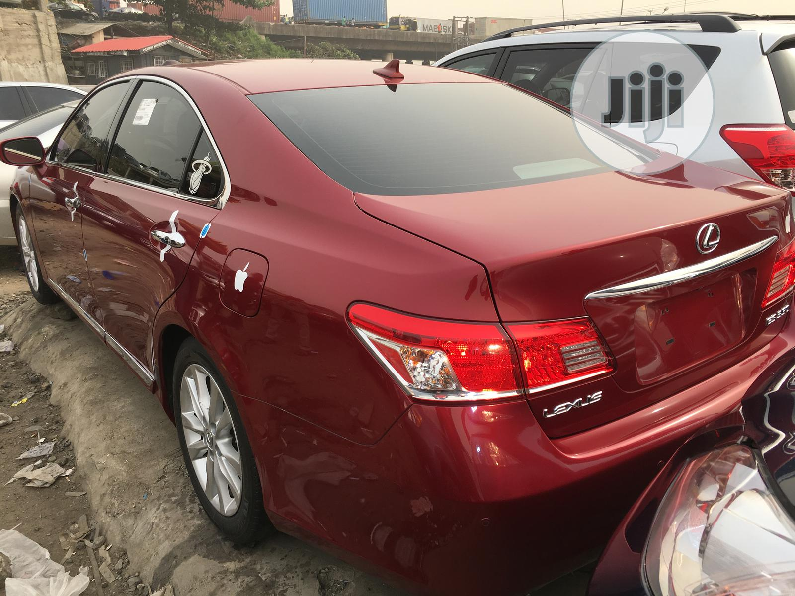 Lexus ES 2010 350 Red   Cars for sale in Apapa, Lagos State, Nigeria