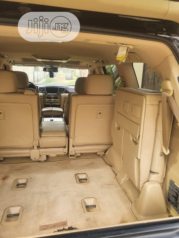 Lexus LX 2010 570 Black   Cars for sale in Ajah, Lagos State, Nigeria