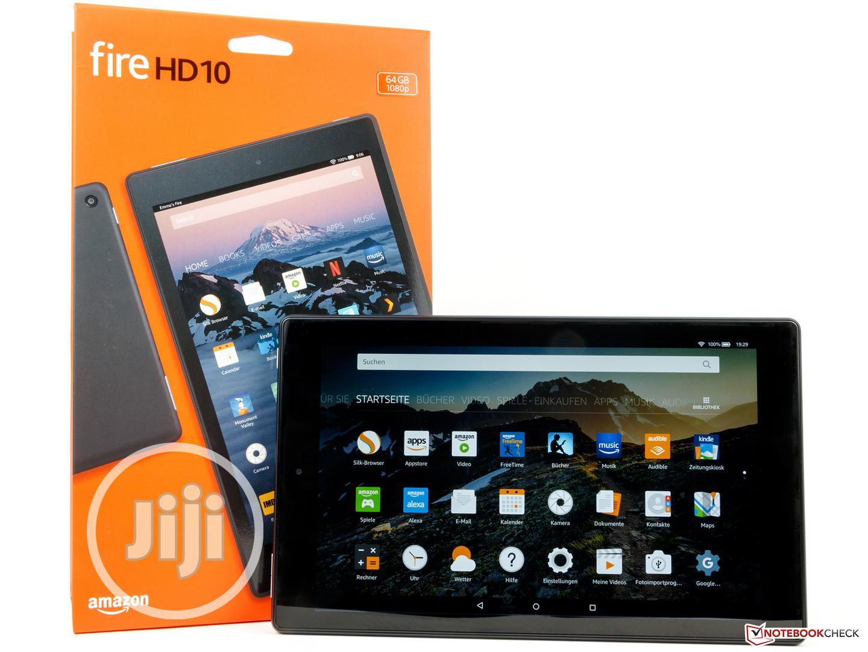 New Amazon Fire HD 10 (2019) 32 GB White | Tablets for sale in Amuwo-Odofin, Lagos State, Nigeria