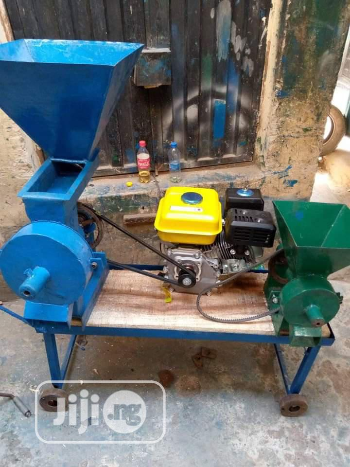 Archive: Complete Set of Grinding Machine With 13hp Engine