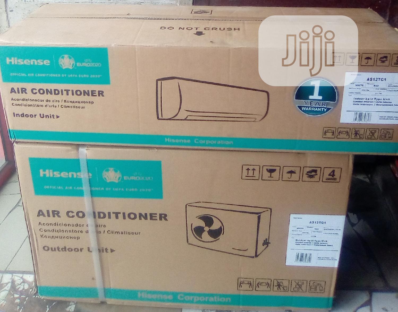 Hisense Air Conditioner 1 Half HP Regular | Home Appliances for sale in Amuwo-Odofin, Lagos State, Nigeria