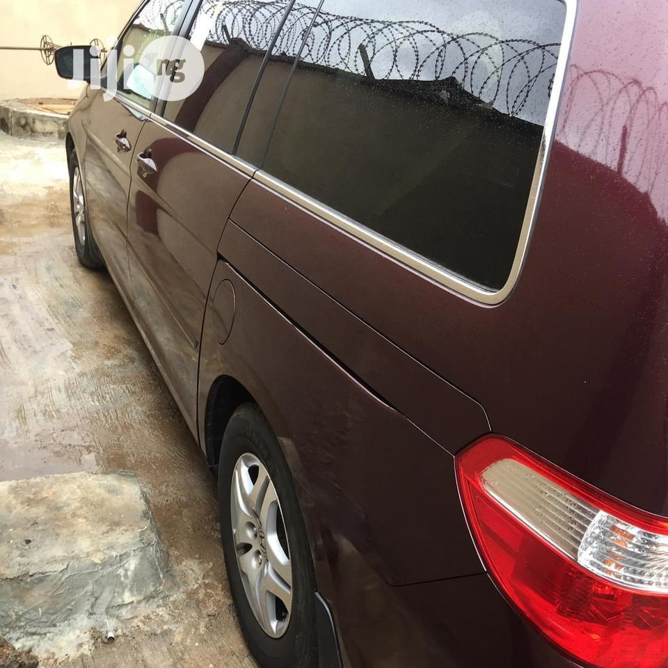 Honda Odyssey 2007 EX Red | Cars for sale in Ajah, Lagos State, Nigeria