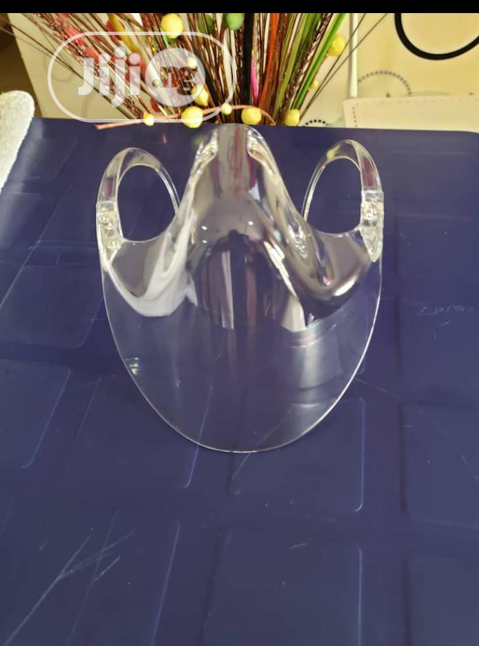 Archive: Unique Isolation Nose and Mouth Face Shield
