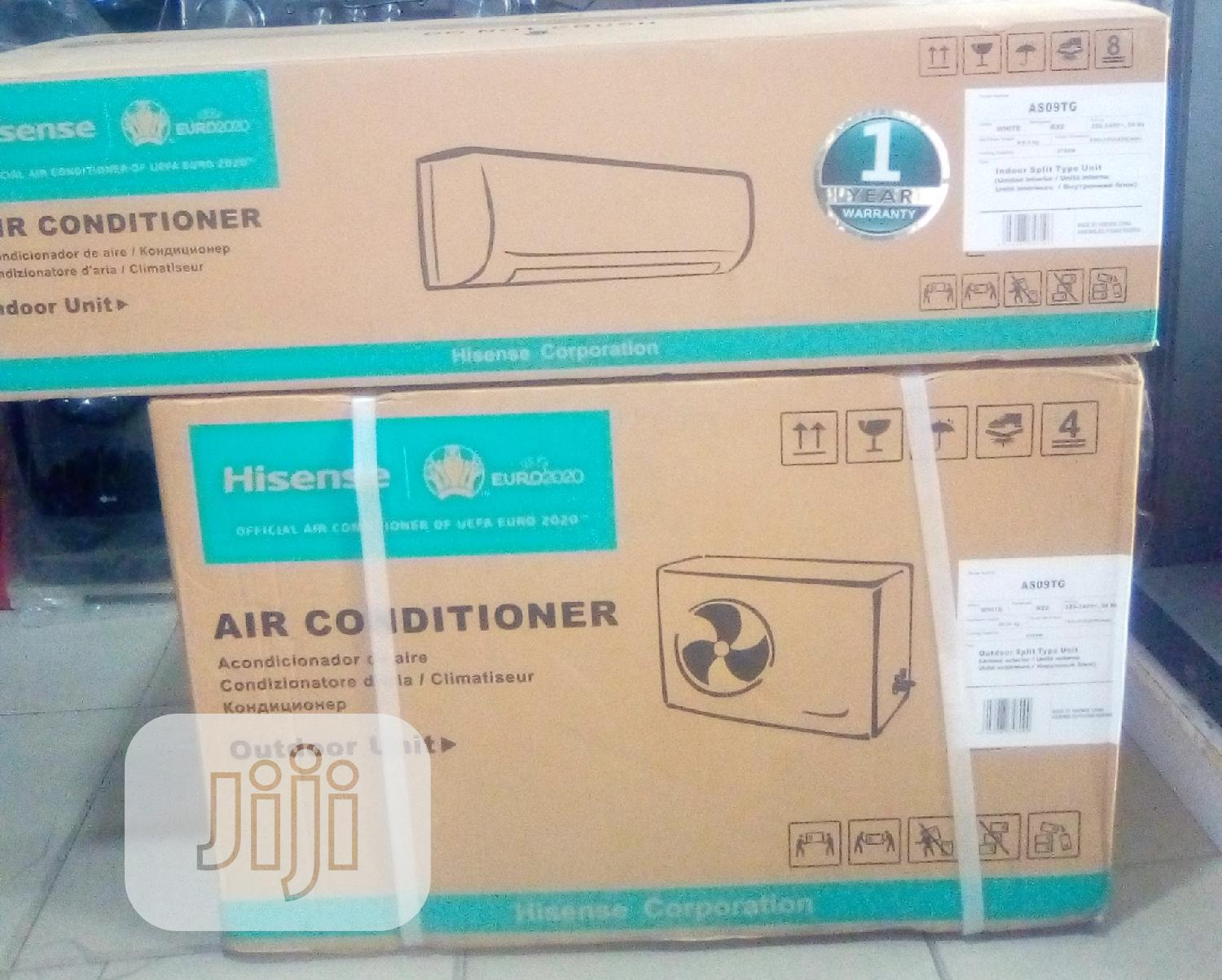 Hisense Air Conditioner 1HP Regular AS09TG | Home Appliances for sale in Amuwo-Odofin, Lagos State, Nigeria