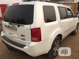 Honda Pilot 2015 White   Cars for sale in Lagos State, Isolo