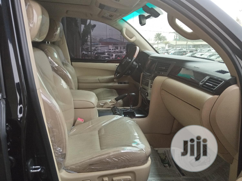 Lexus LX 2013 570 Base Black | Cars for sale in Apapa, Lagos State, Nigeria