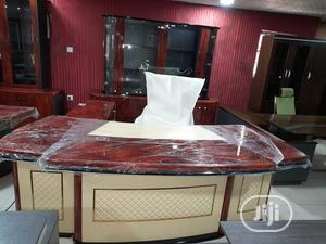 Top Class Executive Office Table Set With Shelf | Furniture for sale in Lagos State, Ikoyi