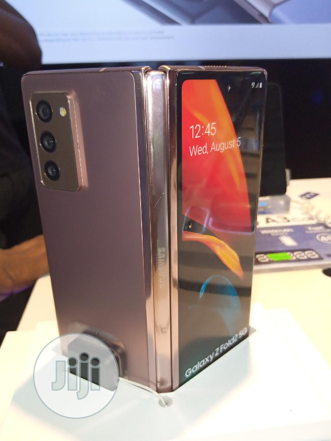 New Samsung Galaxy Z Fold 2 512GB Gold | Mobile Phones for sale in Ikeja, Lagos State, Nigeria