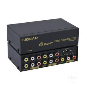 4-port Video / Audio Splitter | Audio & Music Equipment for sale in Lagos State, Ikeja