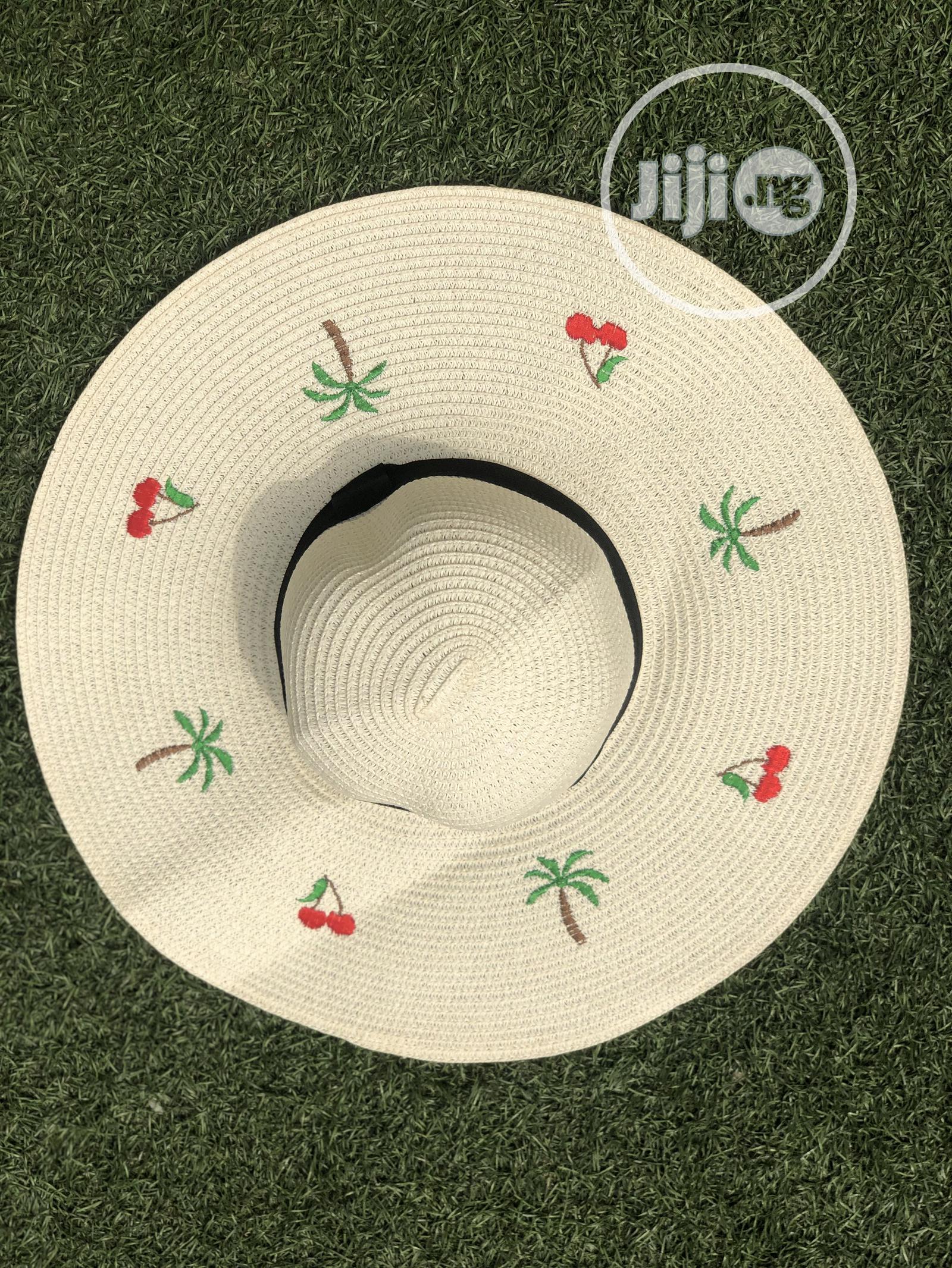 Beautiful Beach Hat
