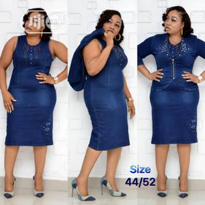 Turkey Jeans Gown. | Clothing for sale in Lagos State, Ojo
