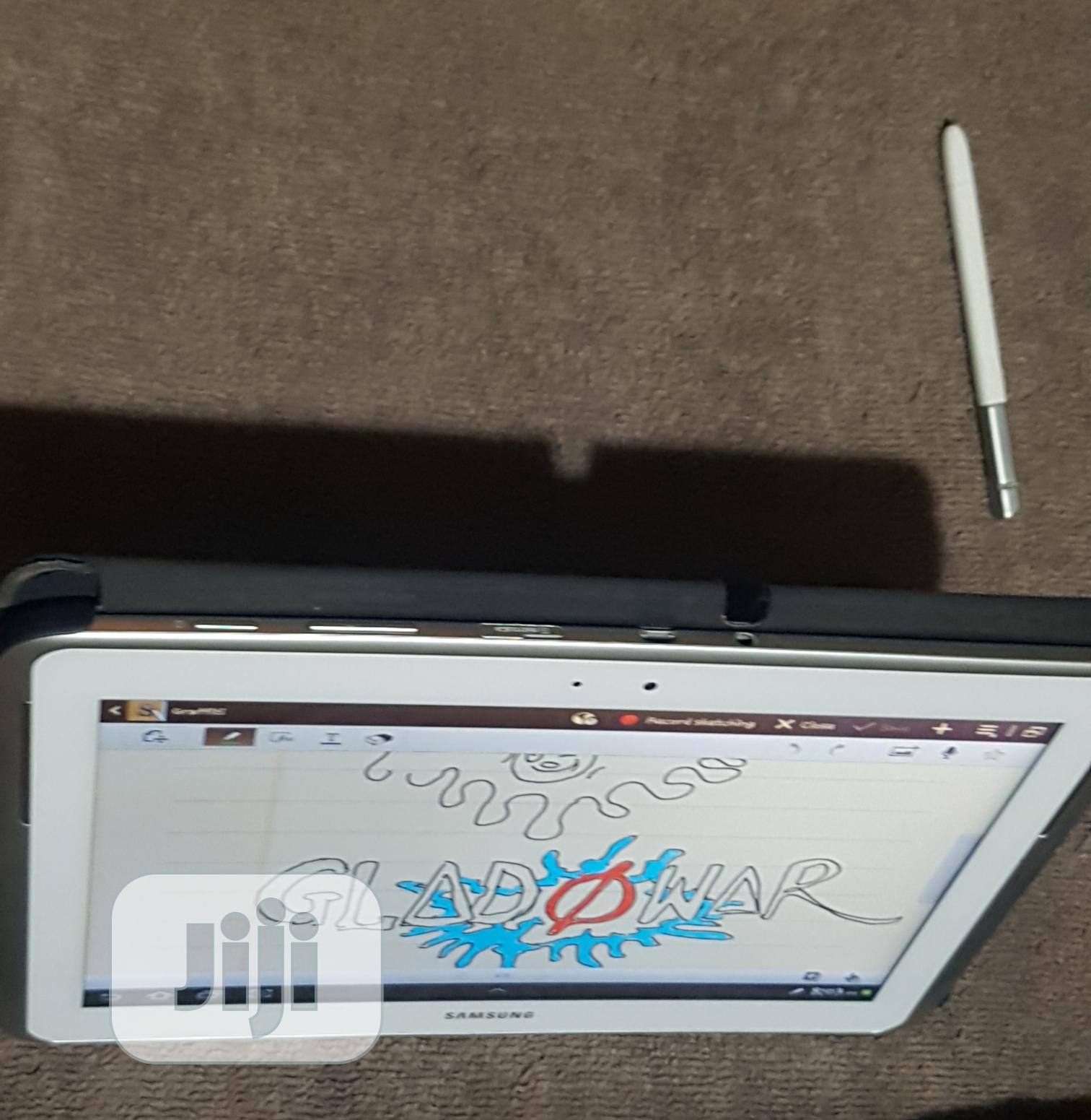 Samsung Galaxy Note 10.1 (2014 Edition) 16 GB White   Tablets for sale in Awka, Anambra State, Nigeria