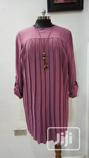Quality Turkey Ladies Front Pleat Dress   Clothing for sale in Lagos State, Ifako-Ijaiye
